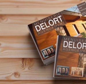 Dépliant Delort agencement - Création graphique
