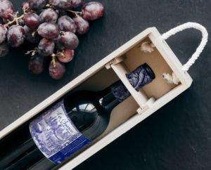 création d'une étiquette de vin