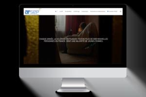 Création de site internet de l'AFSEP - Agence de communication Dordogne