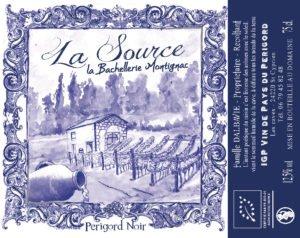 étiquettte Domaine de la Voie Blanche - La Source