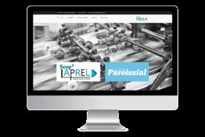 Site internet Scop Laprel - Réalisation Graphic Artitude