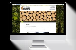 Site internet Saint Jory Bois réalisation Graphic Artitude