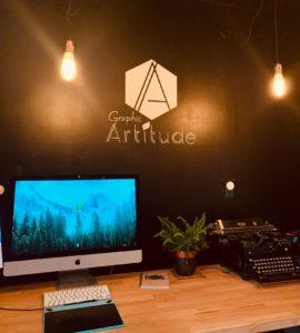 Studio Graphc Artitdue - le bureau